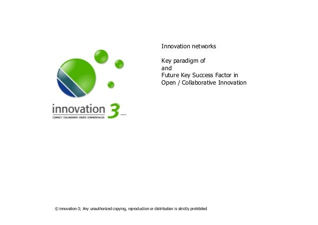 SLIDESETNETWORKS.PPTX © innovation-3; Any unauthorized copying, reproduction or distribution is strictly prohibited Innova...