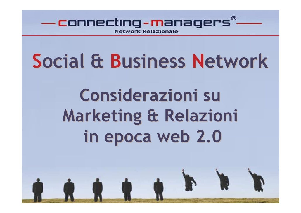 Social & Business Network - Connecting-Managers