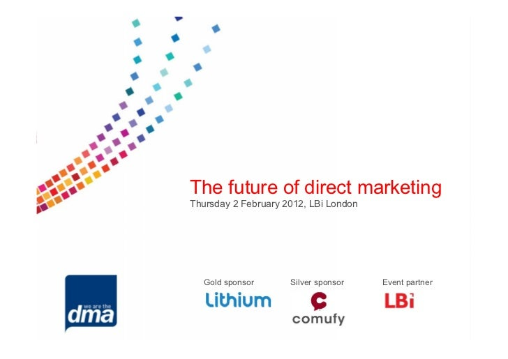 Microsoft power point   the future of direct marketing
