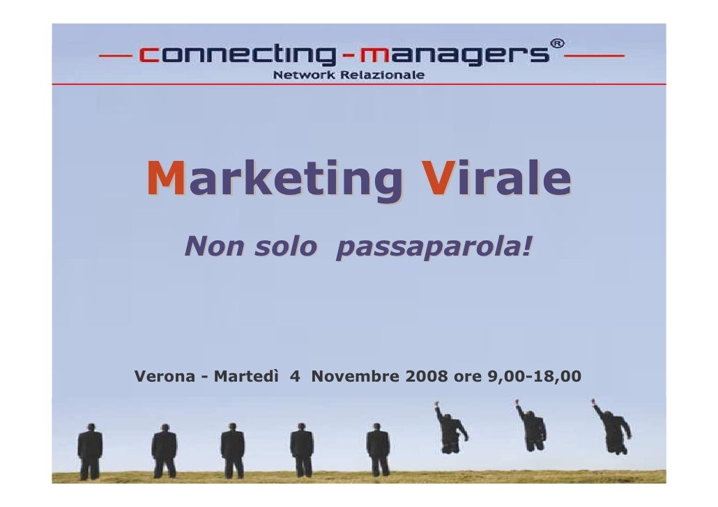 Marketing Virale - Connecting-Managers