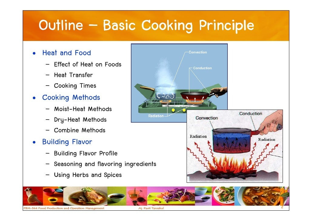 basic cooking principle essay The perfect plate: principles of food presentation  a beautiful dish than what  actually goes into the meal that you're cooking  the basics.