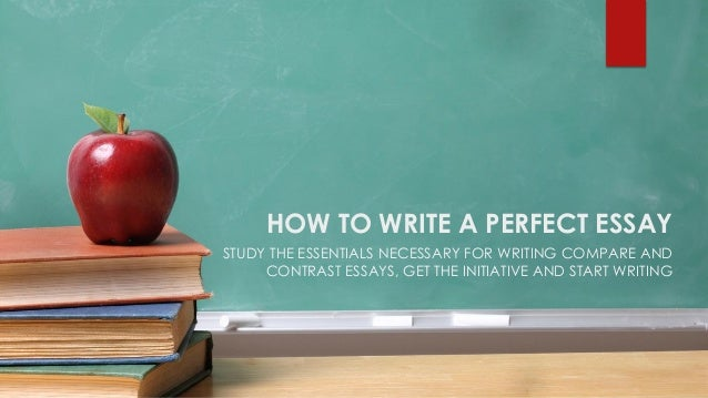 How to write a flawless essay?