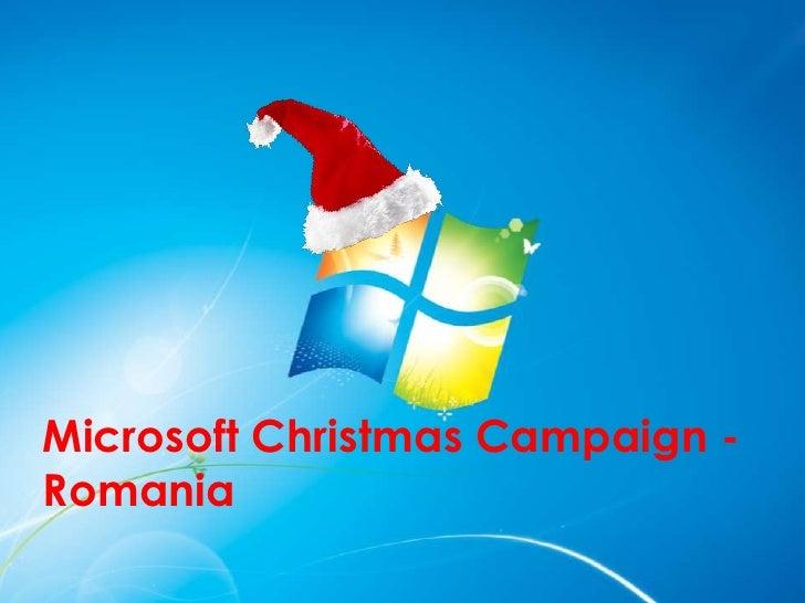 Microsoft Christmas Campaign -Romania