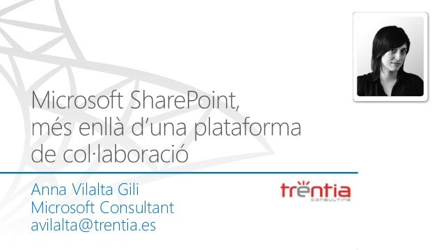 Microsoft share point més enllà duna plataforma de collaboració