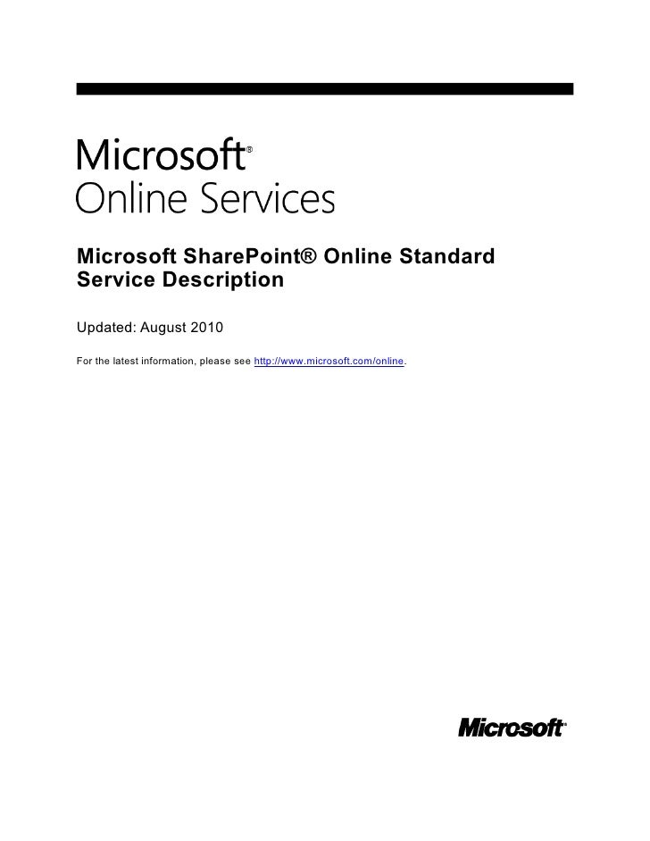 Simplify Your IT Management with Microsoft SharePoint Online: Whitepaper