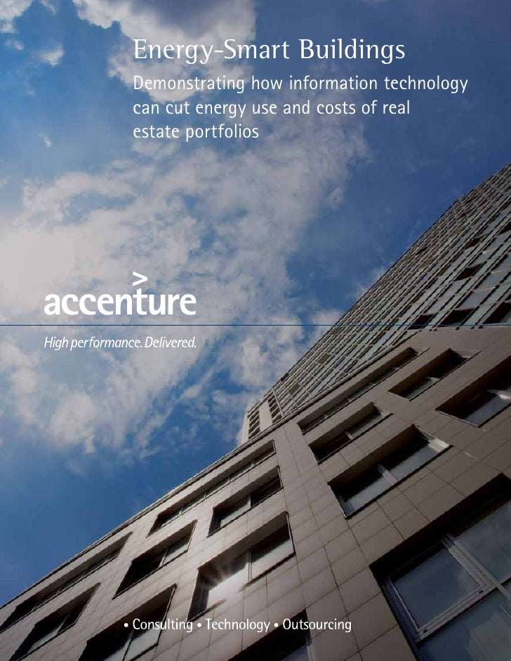 Energy-Smart BuildingsDemonstrating how information technologycan cut energy use and costs of realestate portfolios