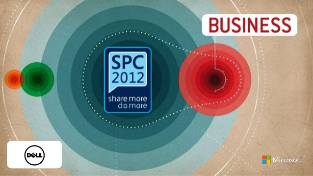 The Keys To A Sustainable SharePoint Strategy - Microsoft SPC12