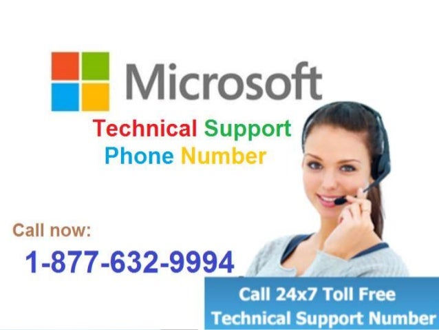 Contact Microsoft Technical Support Phone Number(1-877-632 ...