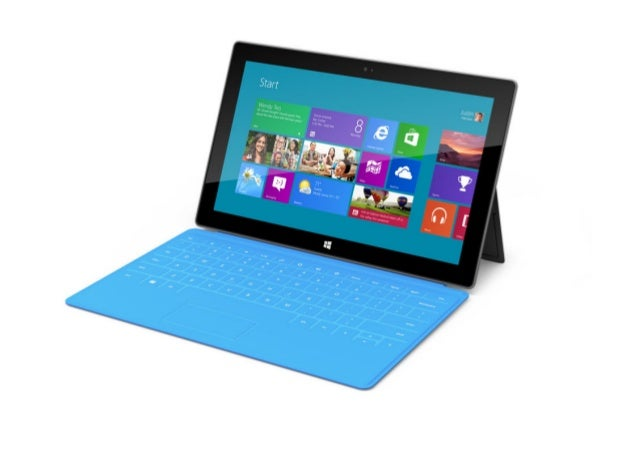 Introducing Windows RT Tablet - Microsoft Surface