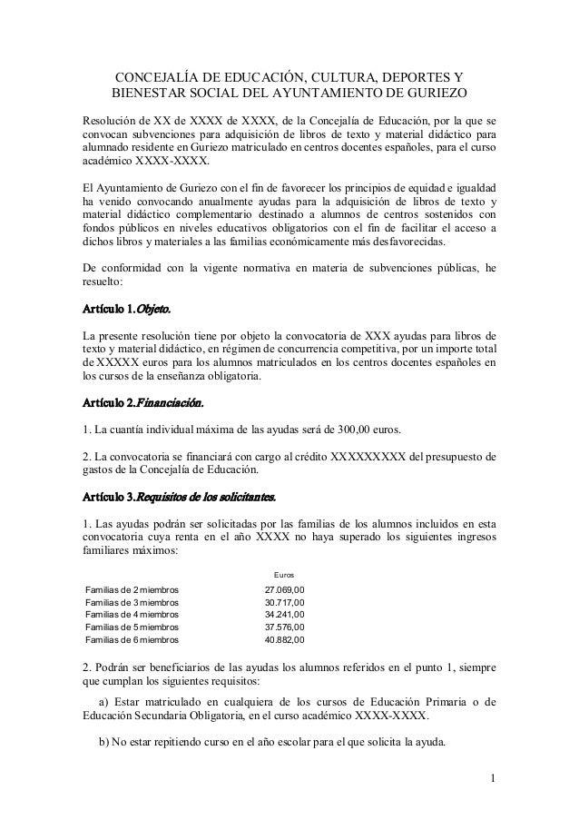 CONCEJALÍADEEDUCACIÓN,CULTURA,DEPORTESY BIENESTARSOCIALDELAYUNTAMIENTODEGURIEZO ResolucióndeXXdeXXXXdeXX...