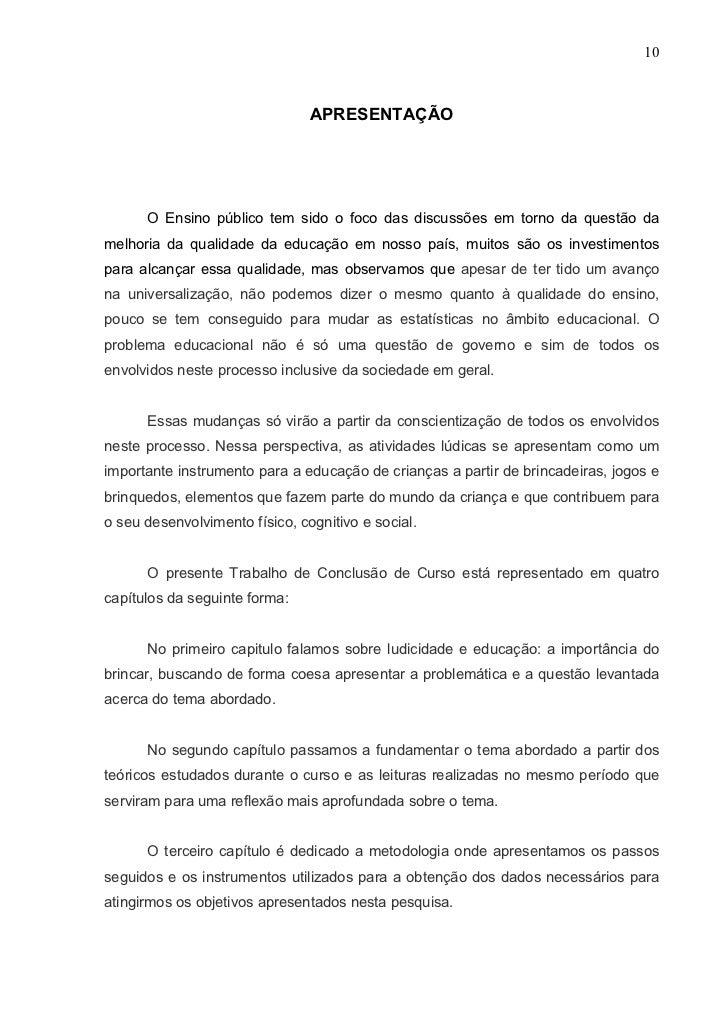 Monografia Marilúcia Pedagogia 2009