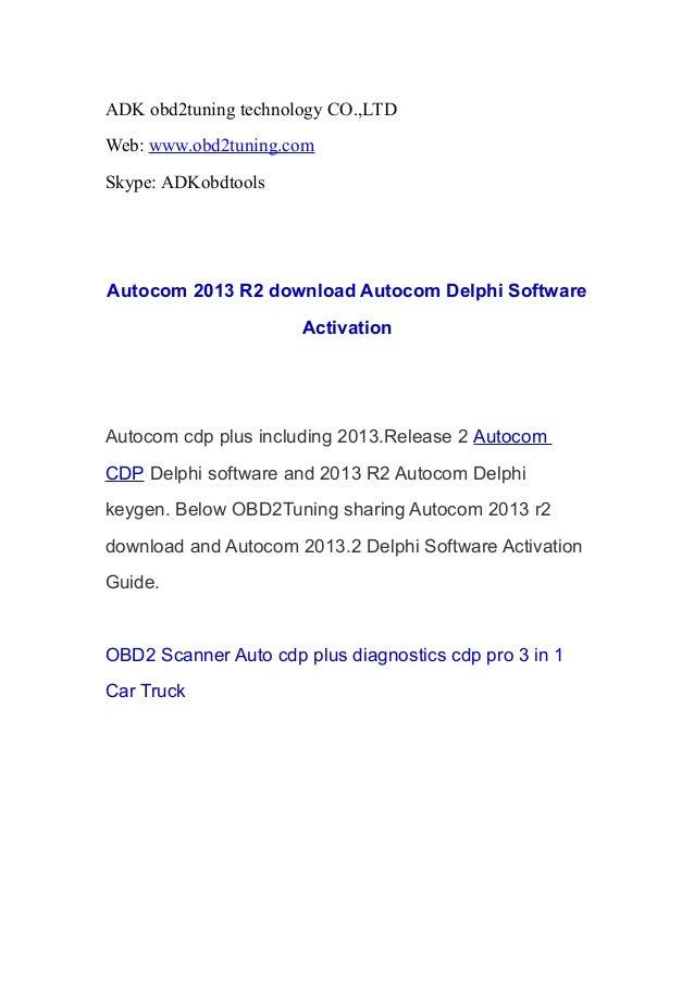 jpeg 55kB, Autocom 2013 R2 download Autocom Delphi Software Activation