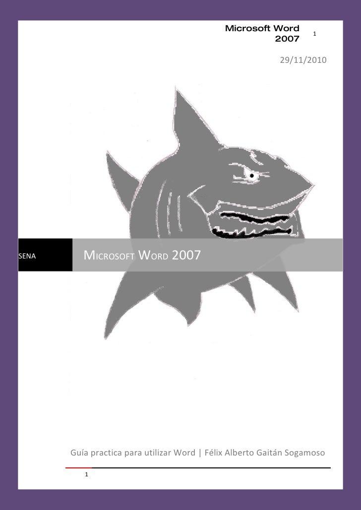 Microsoft Word        1                                                       2007                                        ...