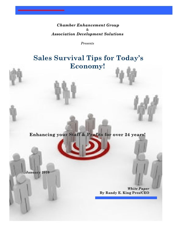 Microsoft Word   Sales Survival Tips 1.1