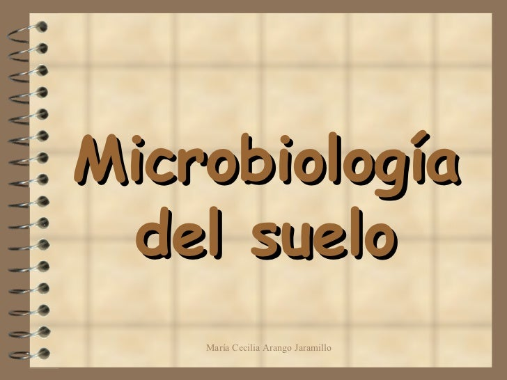 microbiología del suelo