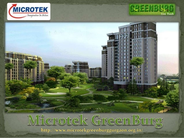 Microtek GreenBurg Gurgaon - Upcoming Residential project by Microtek Infrastructure - Microtek GreenBurg in Gurgaon, Sect...