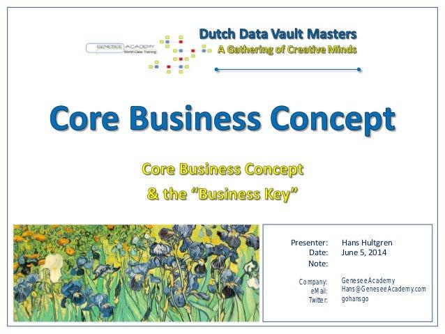 Presenter: Date: Note: Company: eMail: Twitter: Hans Hultgren June 5, 2014 Genesee Academy Hans@GeneseeAcademy.com gohansgo