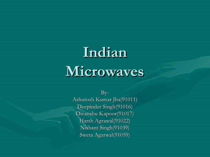 Microwaves India