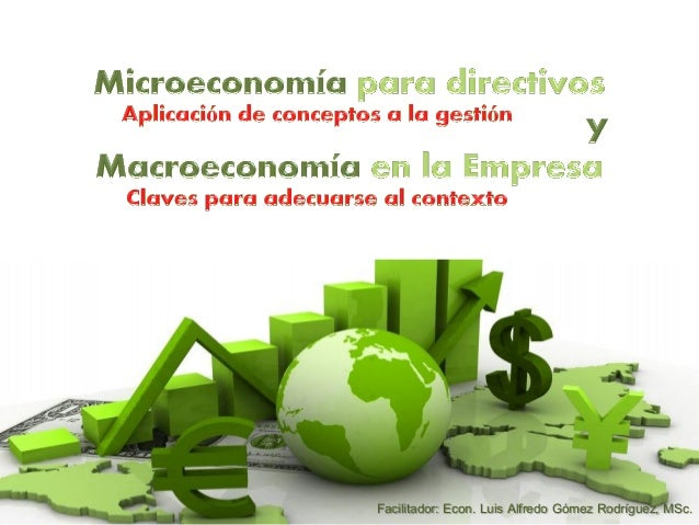 Micro y macro economía