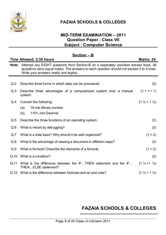computer science term paper format A template is provided for writing paper reviews or term in a term paper or to write serious mathematics or computer science papers.