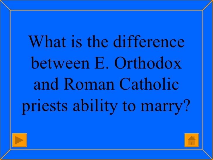 differences between eastern orthodox and roman catholic christianity religion essay As christians, protestants and catholics share different beliefs learn 5 key differences there are many forms of christianity, and though there are similarities between them, there are also significant differences of the three main divisions—orthodox, catholic, and protestant—protestantism.