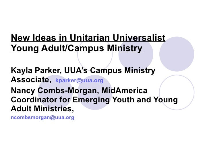 Young Adult Ministry Ideas