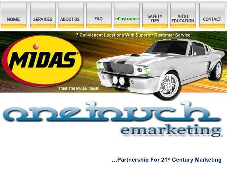 … Partnership For 21 st  Century Marketing