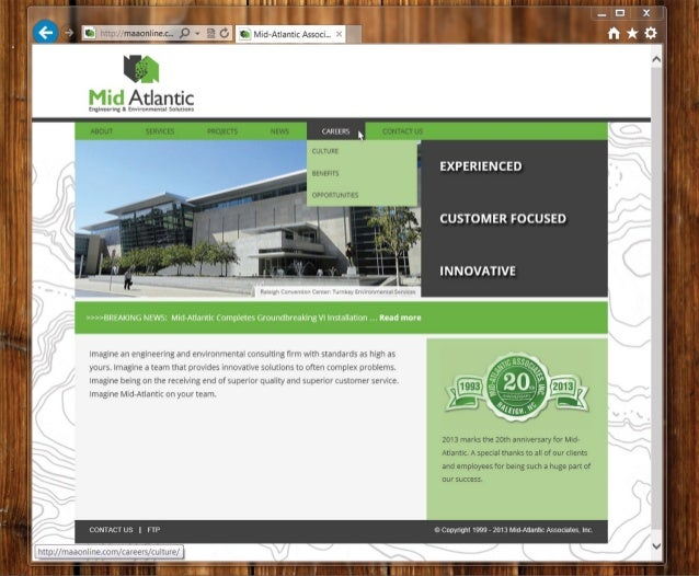 Mid atlantic website