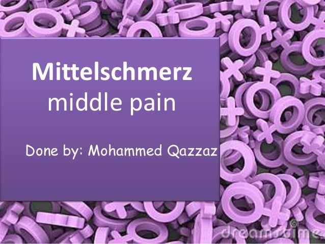 Mid cycle pain