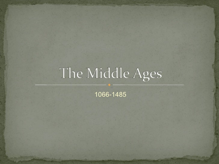 The Middle Ages in England