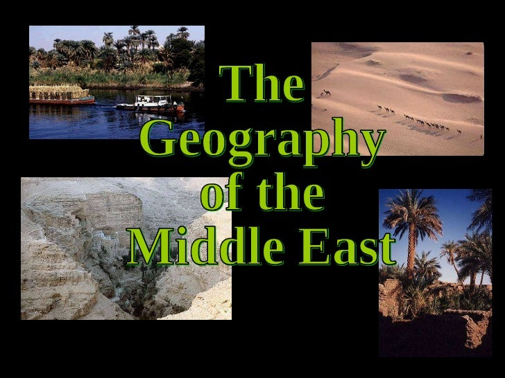 Middle east geography-0809