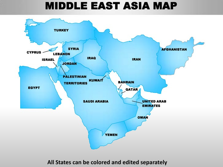 Middle East Asian Countries 63