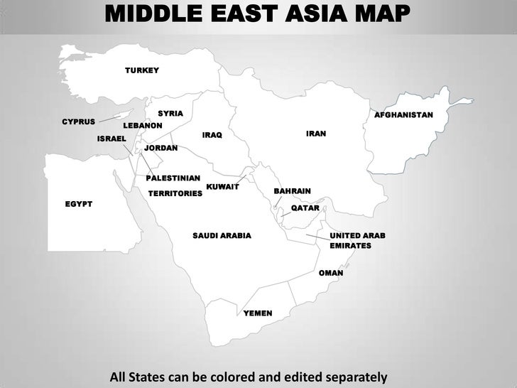 middle east asia map 6 middle east asia map