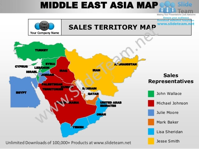 Middle East Map With Names Middle East Asia Map Your Logo