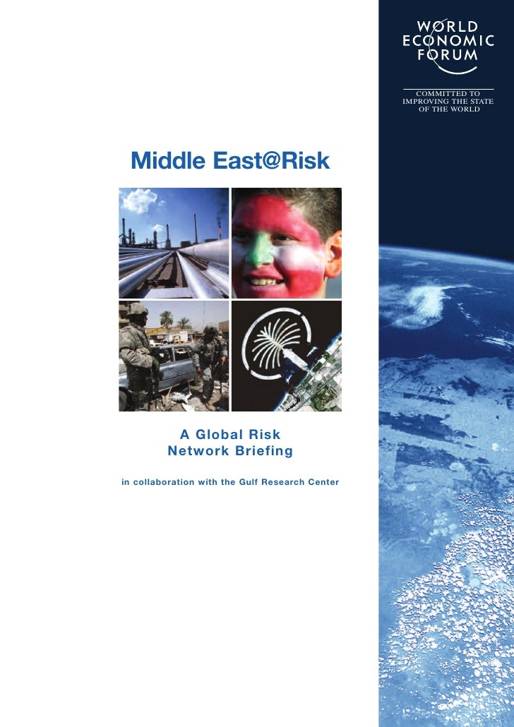 WEF: Middle East at Risk