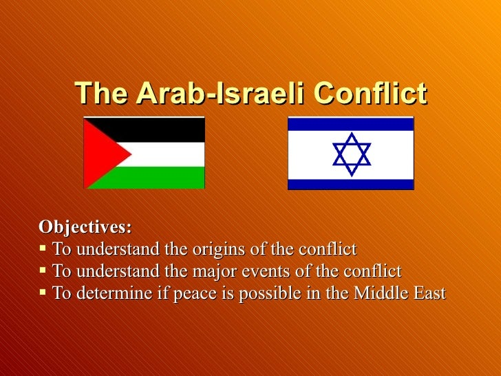 the issue of the conflict in the middle east In his new book, culture and conflict in the middle east (humanity, 2008), anthropologist philip salzman uncovers the roots of contemporary middle eastern life deep in the tribal foundation.