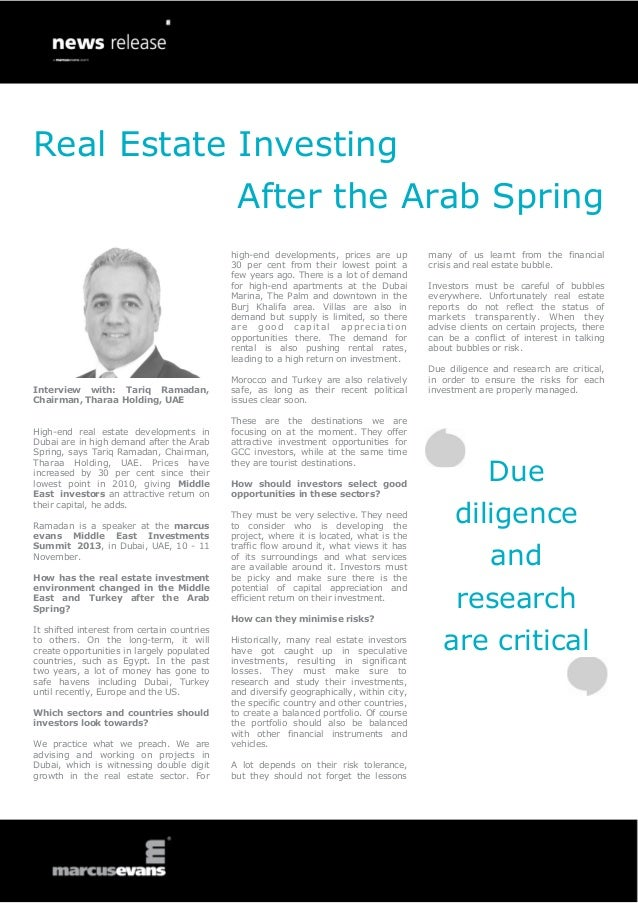 Real Estate Investing Interview with: Tariq Ramadan, Chairman, Tharaa Holding, UAE High-end real estate developments in Du...