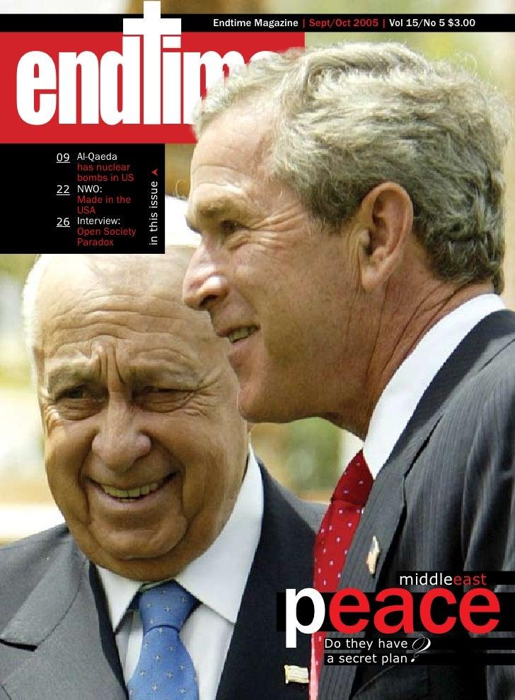 end ime                                    Endtime Magazine | Sept/Oct 2005 | Vol 15/No 5 $3.00      09 Al-Qaeda     has n...
