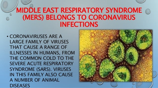 the characteristics of severe acute respiratory syndrome a viral respiratory illness They usually cause mild to moderate upper-respiratory illness middle east respiratory syndrome (mers) is a viral respiratory illness no mers-cov is not the same coronavirus that caused severe acute respiratory syndrome (sars) in 2003 however.