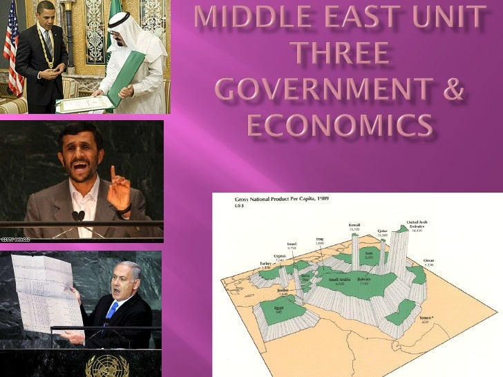 Middle east unit three part i