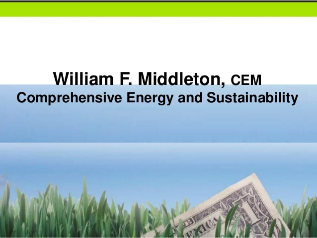 William F. Middleton, CEMComprehensive Energy and Sustainability             AEP Energy is a competitive retail electric s...