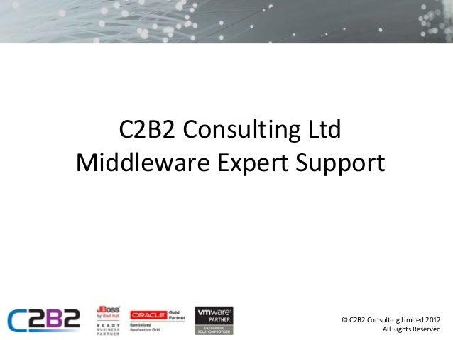 Middleware Expert Support Presentation