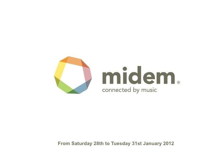 Midem 2012 General Presentation