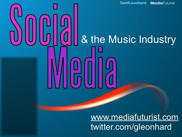 How to use social media for marketing your music business (Midemnet 2010)