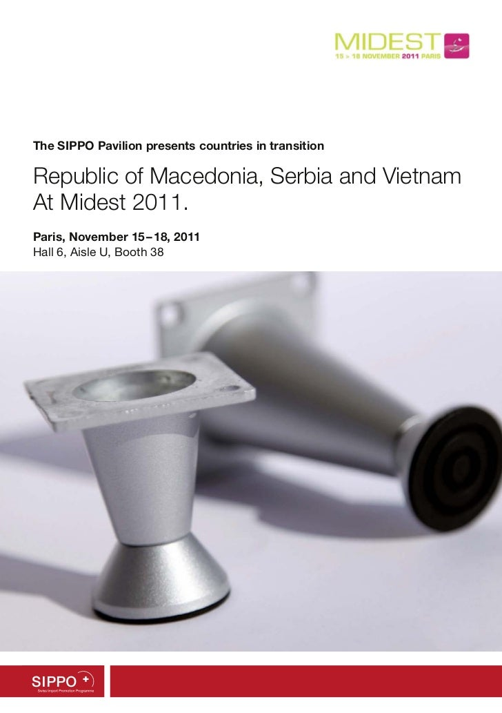 SIPPO exhibitor brochure - Midest 2011