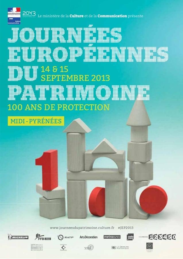 Guide journées du patrimoine en Midi-Pyrenees 2013