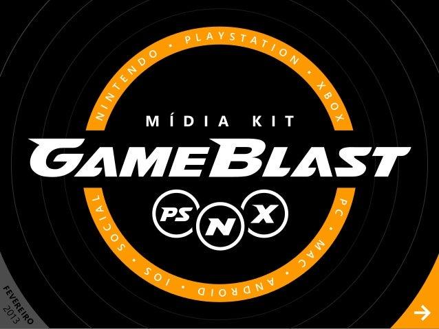 Midia kit GameBlast