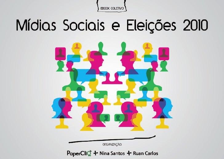 """E-book """"Mídias Sociais e Eleições 2010"""""""