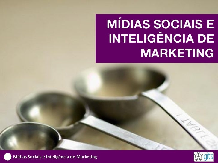 Mídias Sociais e Inteligência de Marketing