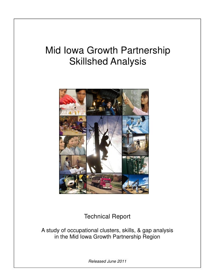 Mid Iowa Growth Partnership Skillshed Report